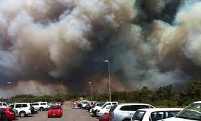 bushfires with cares