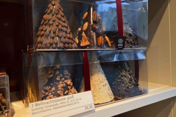 Chocolate Christmas trees